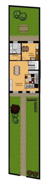 Tecnocasa isola della scala isola della scala villette for Piano terra della casa